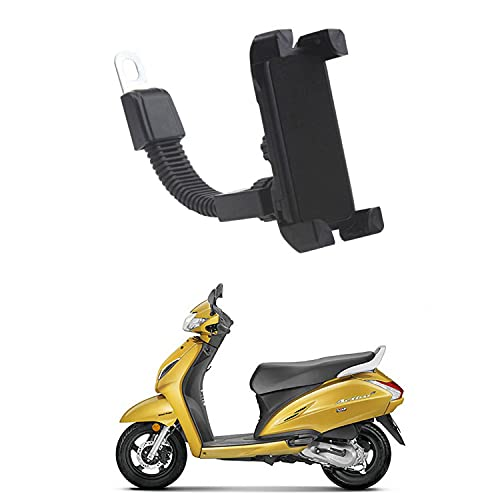 Ascension™ Universal Mobile Stand Mobile Holder for Bike,Scooty,Bicycle with 360 Degree Rotation   Anti-Vibration   for Honda Activa 6G
