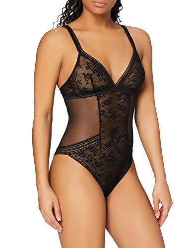 Maison LeJaby 16453-04 Women's Miss LeJaby Black Lace Body 16453-04 Small