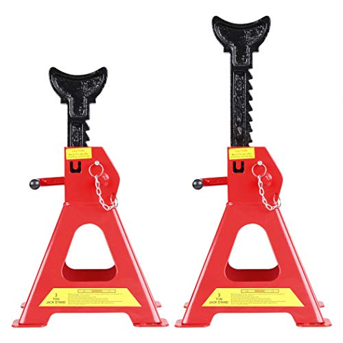 CARTMAN 3 Ton Double Locking Jack Stands