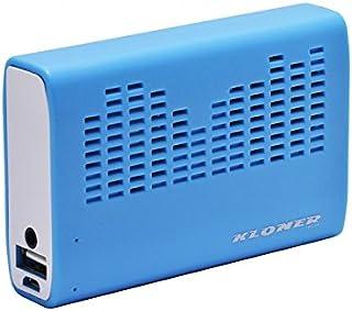 KL-Tech KPB32 - Altavoz con batería de 3200 mAh, azul