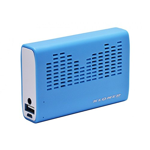 Biwond - Power Bank 3200mah + Altavoz kloner Azul