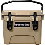 Fatboy 10QT Rotomolded Cooler Chest Ice Box Hard Lunch Box - Sand Tan