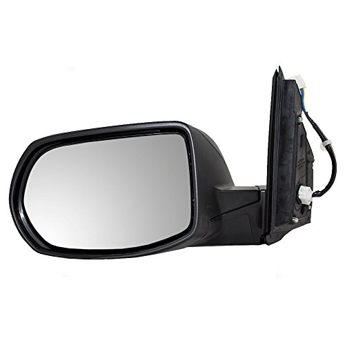 Brock Replacement Drivers Power Side View Mirror Heated Compatible with 12-16 CR-V 76258-T0A-A21