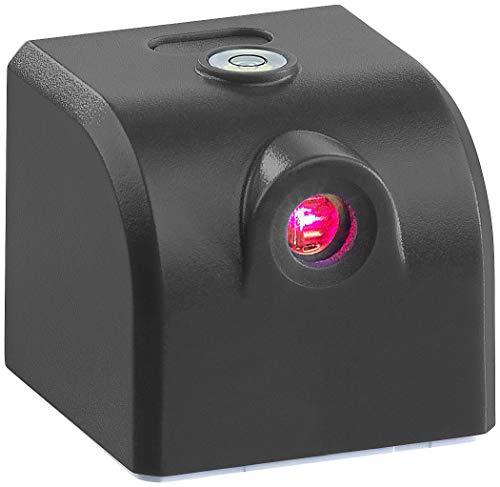 AGT Kreuzlaser: Mini-Kreuzlinienlaser mit Wasserwaage, Akku und USB-Stromversorgung (Laser Wasserwaage)