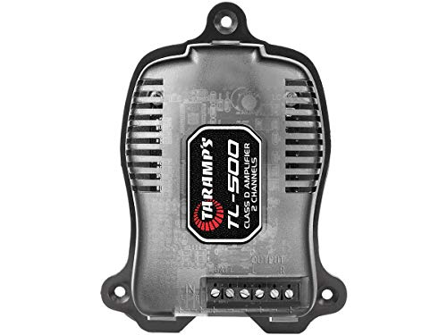 Taramps TL-500 2x50 Watts-RMS Mini Compact Car Amplifier Full Range 2-Channels Class-D 2-ohm Stable