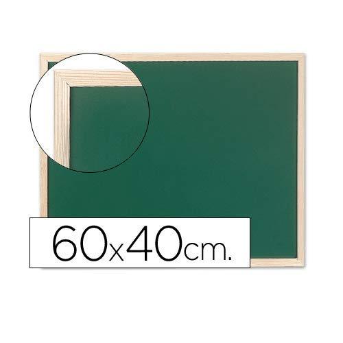 CABLEPELADO Pizarra verde Q-connect marco de madera Verde (60 x 40 cm)