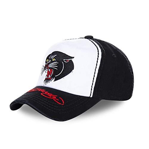 Ed Hardy Herren Snapback Caps schwarz Verstellbar