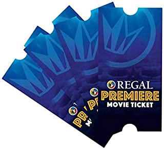 4 Regal Entertainment Group Premiere Movie Tickets (SAVE $10+)
