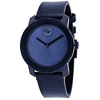 Movado Men s Bold Blue Dial Watch - 3600370