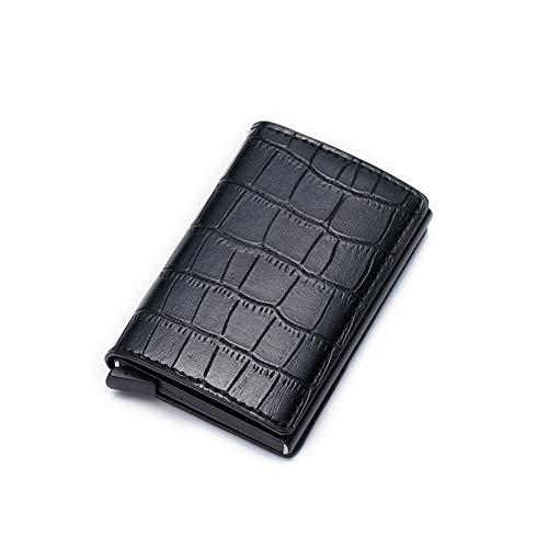 NSQBTM Brieftasche Anti Theft RFID Kleine Männer Brieftaschen Pop Up Slim Mini Smart Brieftasche2019 Neue Magic Card Brieftasche Für Männer Metall Geldbörsen Vallet Walet