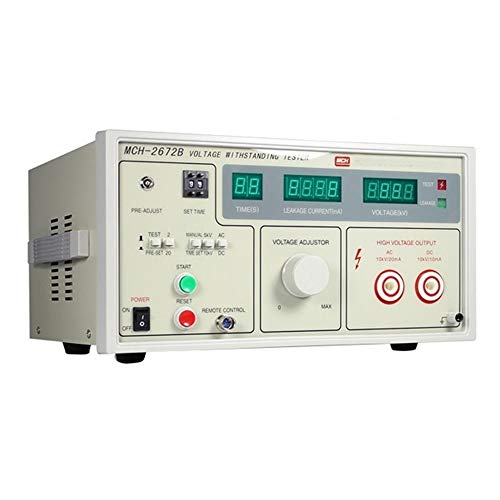 Précis MCH-2672B Portable Testeur d'isolement CC 10KV d'isolement Tester Tension Testeur Affichage numérique Durable (Size : 220V)