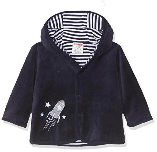 Schnizler Baby-Unisex Jäckchen Nicki Rakete Jacke, Blau (Marine 11), (Herstellergröße: 56)