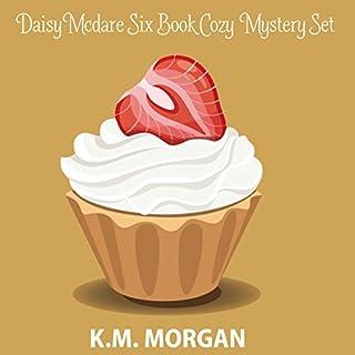 Daisy McDare Six Book Cozy Mystery Set audiobook cover art