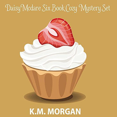 Daisy McDare Six Book Cozy Mystery Set audiobook cover art