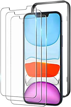 3 Pack Youmaker Screen Protector for Apple iPhone