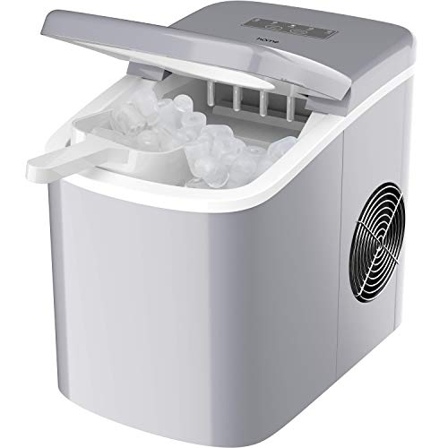 hOmeLabs Chill Pill Countertop Ice Maker - Perfect Ice in 8 to 10 Minutes - 26 Pounds Per Day Production To Keep You...