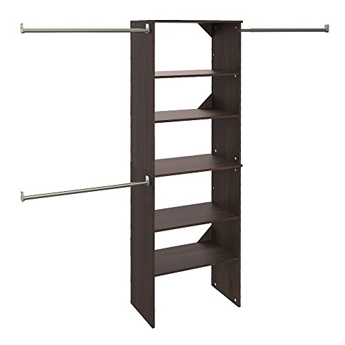 ClosetMaid 88882 SuiteSymphony 25-Inch Starter Tower Kit, Espresso