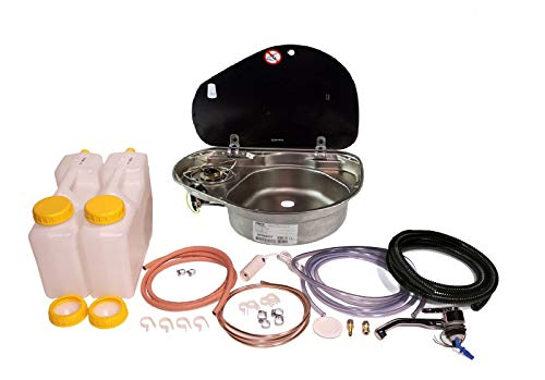 Dometic Smev 8821 - Juego de instalación de grifo para fregadero (R/H)