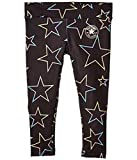 Converse Kids Girl's Dri-FIT Gradient Star Printed Leggings (Little Kids) Black 4 Little Kids