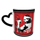 Jonesmall Vamos Rafa Rafael Nadal Coffee Mug,Tea Cup,Fashionable Ceramic Color Changing Mug,Novelty Heat Sensitive Mug with Unique Pattern,Novelty Gift Mugs, Birthday Present,Christmas