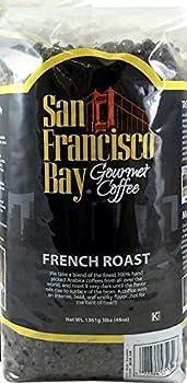 San Francisco Bay French Roast Gourmet Dark Roast 100% Arabica Coffee 3lb Kosher