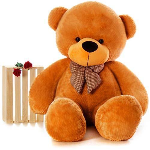 HUG 'n' FEEL SOFT TOYS Teddy bear 4 feet, Soft toy, Teddy bear 4 feet for girls, Teddy bear 4 feet...