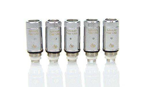 5er Pack Ersatzverdampferkopf C3 Dual Coil Delta Joyetech, e-Zigarette