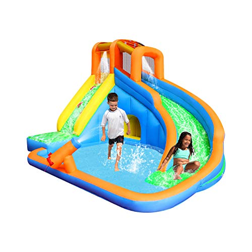 Retro Jump Inflatable Slide Bouncer Pool Water Slide Climber Castle Bounce House Waterslide For Kids Backyard With Blower Buy Online In Dominica At Dominica Desertcart Com Productid 60063676