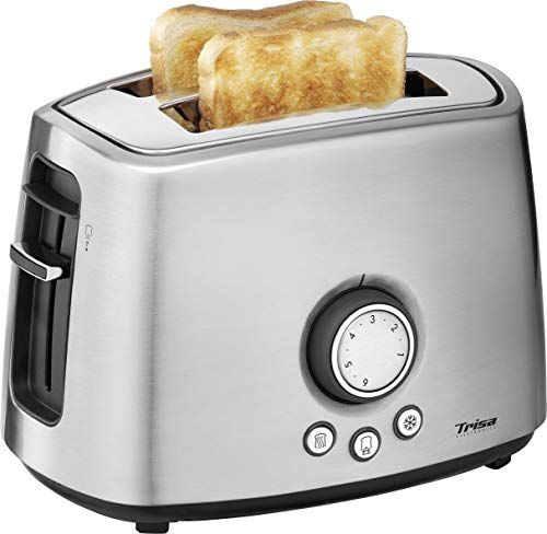 Trisa Electronics My Toast 2fetta/e 1000W Acciaio inossidabile tostapane