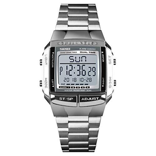SHTAO 1381 Top Brand Fashion Watch 30m Impermeable Multifunción LED Reloj Digital Reloj de Pulsera Informal de Negocios