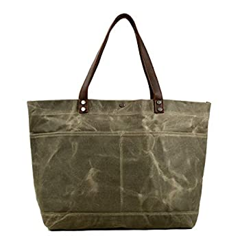 Best waxed canvas tote bag Reviews