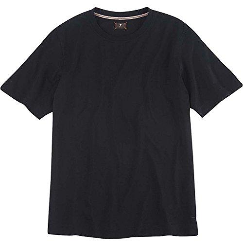 Left Coast Tee Classic Fit Short Sleeve Crew Neck Tee Shirt Black: M1101-XL