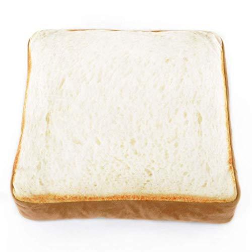 Jjek Creative Kat Bed, Toast Omelet Pluche Schattig Wasbaar Warm Persoonlijkheid voor Huisdier Bed (klein), Style 2