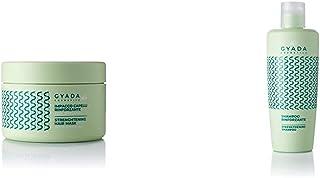 Gyada Cosmetics Impacco Capelli Rinforzante Con Spirulina Certificato Bio Made In Italy, Verde, 250 Millilitro & Cosmetics...