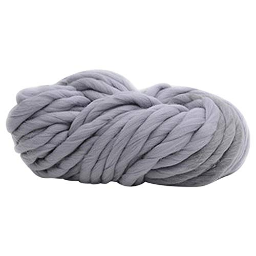 Amesii - Colchoneta de lana gruesa gigante para tejer a mano, 250 g, muy voluminosa 11#