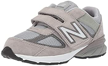 New Balance Kid s Made 990 V5 Hook and Loop Sneaker Grey 3 XW US Infant