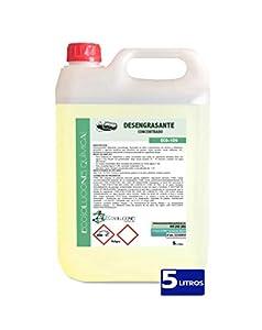 Ecosoluciones Químicas ECO-109   Desengrasante Concentrado enérgico. Especial Cocina, Motores, maquinaria, Suelos industriales y talleres   5 litros