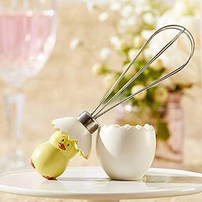 Kate Aspen Stainless-Steel Egg Whisk in Showcase Gift Box by Kate Aspen