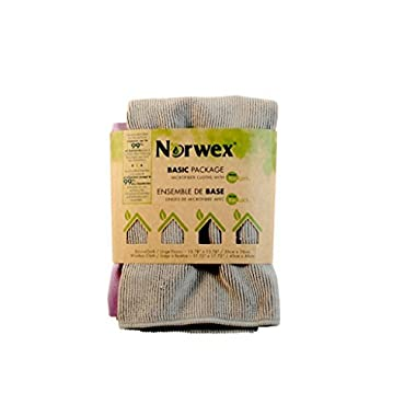 Norwex Basic Antibacterial Microfiber Cloth Package