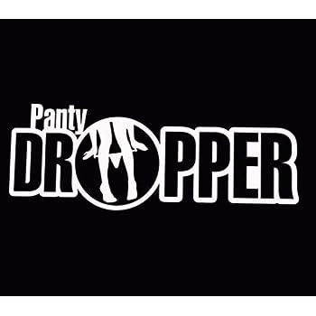 """Panty Dropper Funny JDM Vinyl Decal Sticker Car Window bumper laptop tablet 6/"""""""