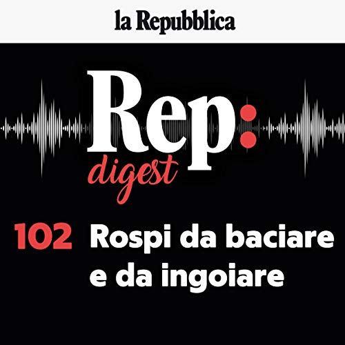 Rospi da baciare e da ingoiare audiobook cover art