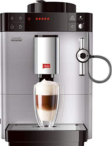 Melitta Caffeo Passione F540-100, w pełni automatyczny ekspres do kawy z systemem automatycznego cappuccinatore, stal nierdzewna