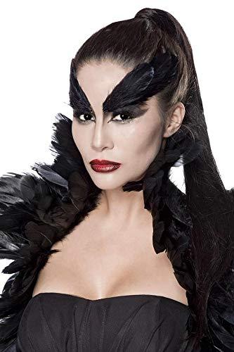 Sexy Crow Witch Kostüm Krähen Hexe Halloween Horror Damen Hexenkostüm XS