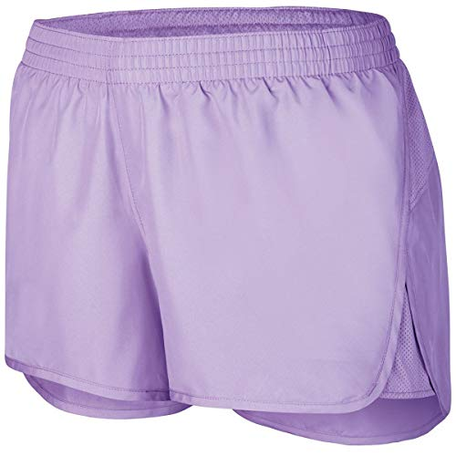 Augusta Sportswear Girls Wayfarer Shorts, Light Lavender, L