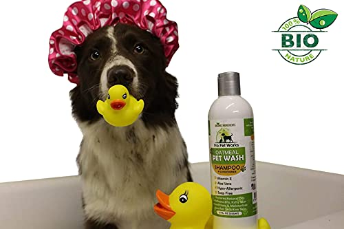 Product Image 5: Pro Pet Works Natural Organic 5 in One Oatmeal Pet Shampoo + Conditioner