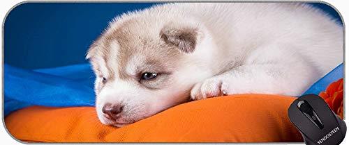 Cojín de ratón de Juego Grande, Perros Puppy Jack Russell Goma Antideslizante Mousepad