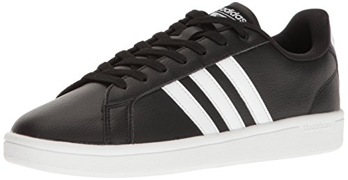 adidas Women's Shoes | Cloudfoam Advantage Sneakers, White/Black, (10 M US)