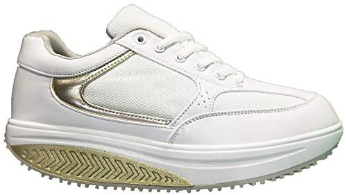 Mapleaf ortopédica Zapatillas Mujer Hombre Running Bambas Air Deportivas Zapatos para Tenis...