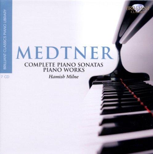 Brilliant Classics Piano Library: Medtner - Sämtliche Klavierwerke