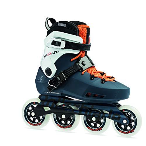 Rollerblade Unisex– Erwachsene MAXXUM Edge 90 Inline-Skate, Sapphire/orange, 255